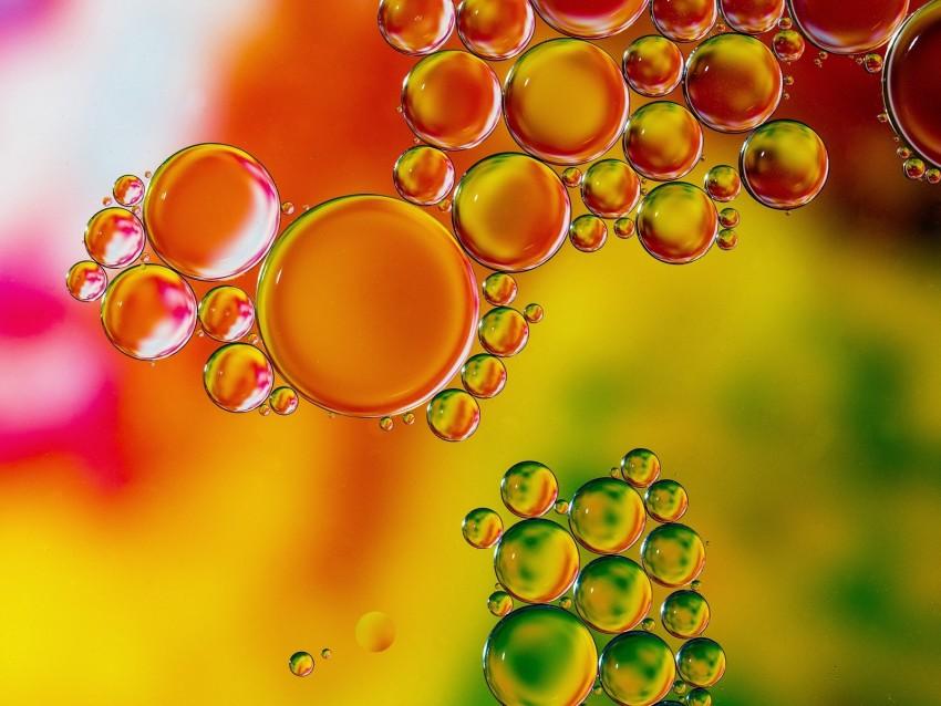 free PNG bubbles, liquid, transparent, colorful, macro background PNG images transparent