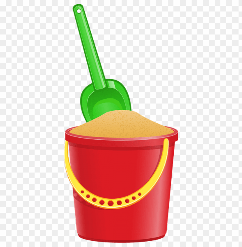 free PNG Download bucket with shovel transparent clipart png photo   PNG images transparent