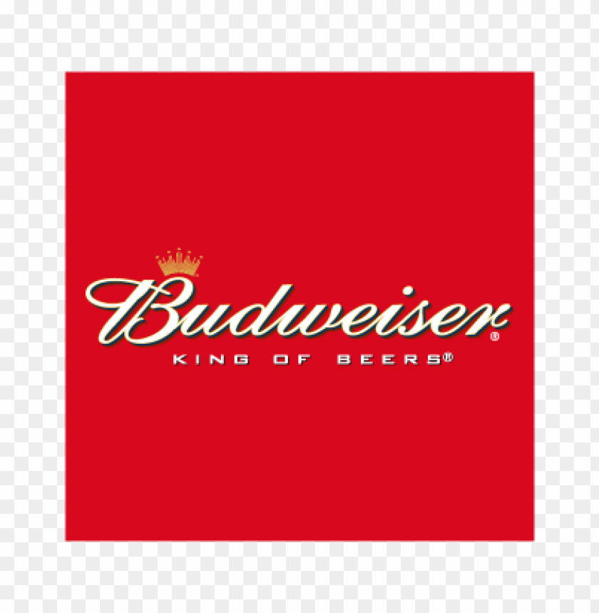 free PNG budweiser king of beers vector logo PNG images transparent