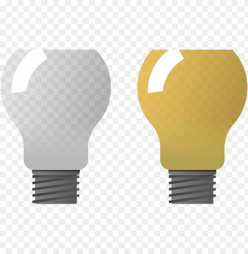 free PNG bulbs, electric bulbs, light, lamp, electric clipart - light bulb on and off transparent PNG image with transparent background PNG images transparent