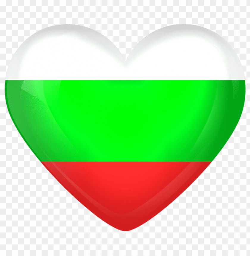 free PNG Download bulgaria large heart flag clipart png photo   PNG images transparent