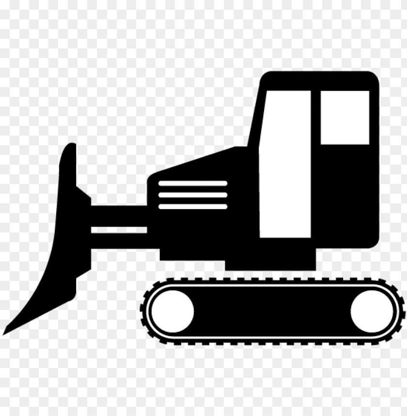 free PNG bulldozer clipart simple PNG image with transparent background PNG images transparent