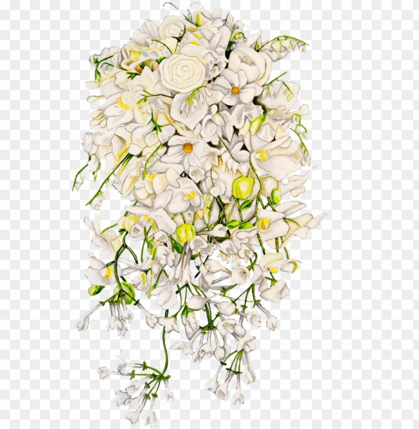 Bunga Pengantin Png Bunga Pernikahan Format Png Image With