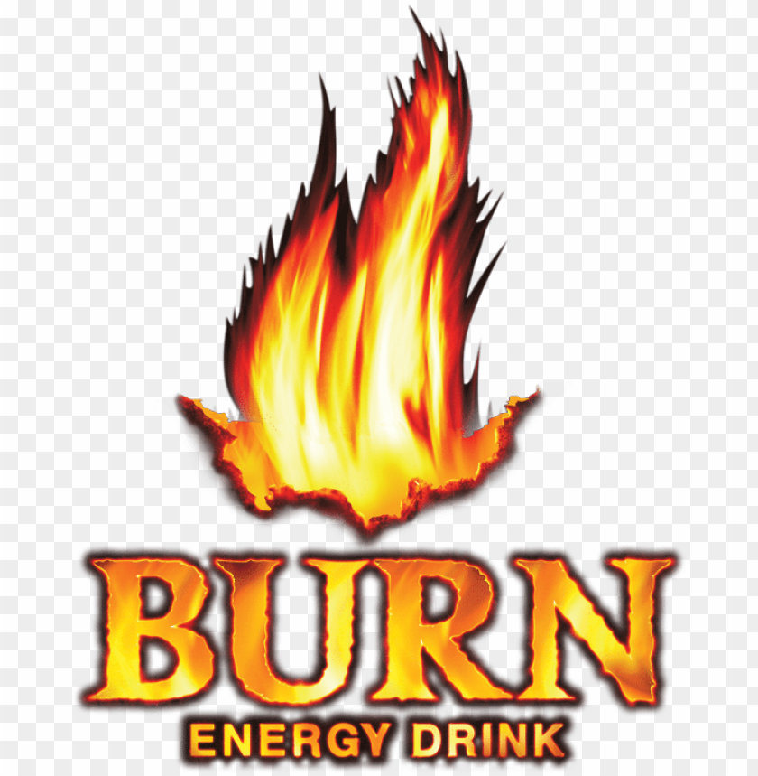free PNG burn is an energy drink owned and distributed by the - burn energy drink logo PNG image with transparent background PNG images transparent