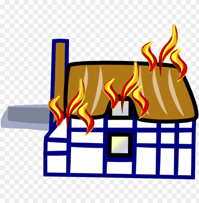 Burning House Png Image With Transparent Background Toppng