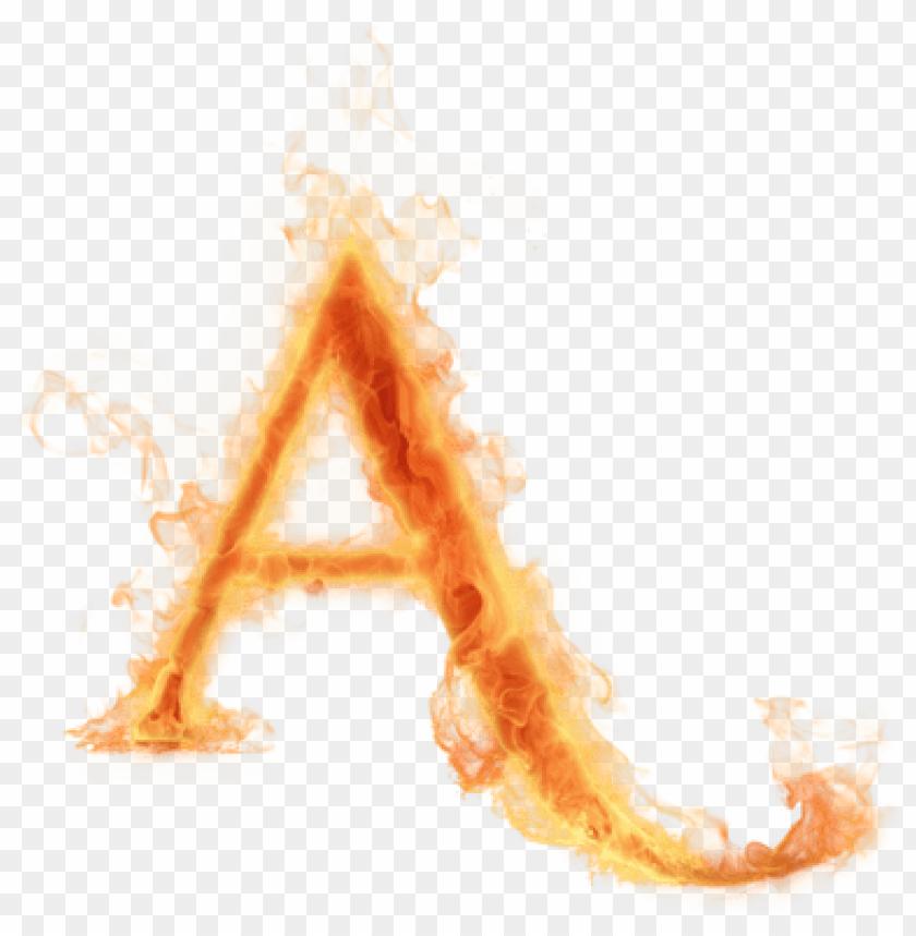 free PNG burning letter a - fire letter a transparent PNG image with transparent background PNG images transparent