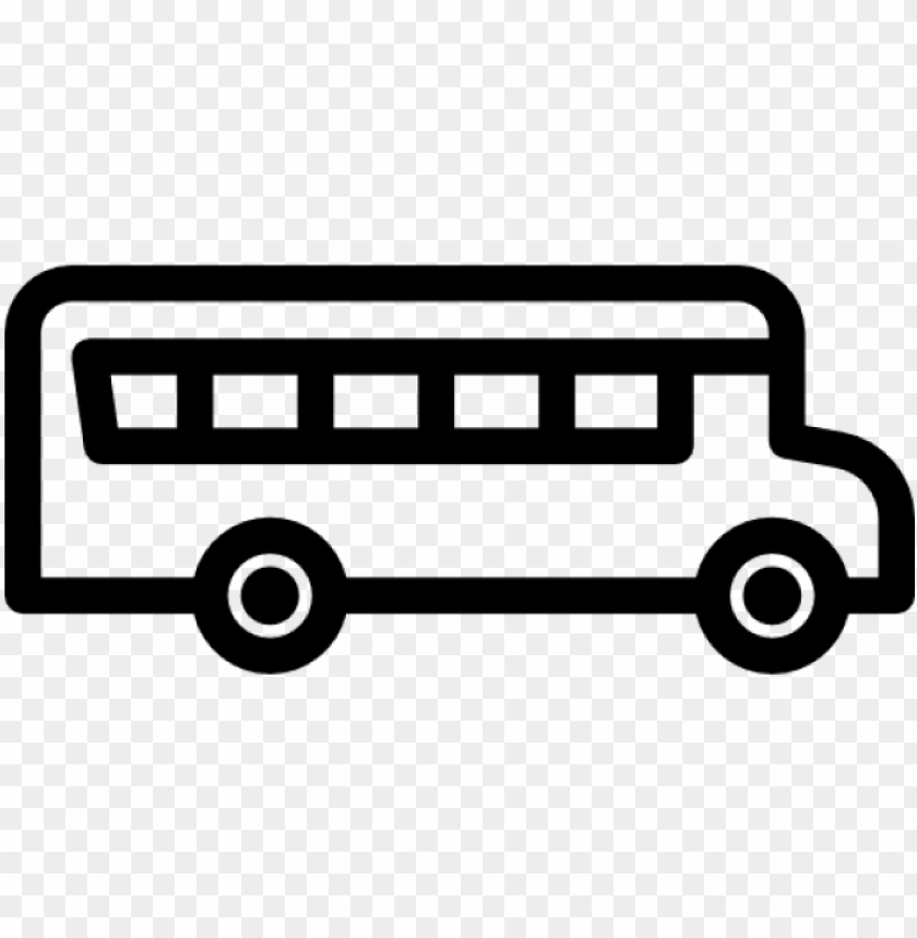 Bus Clipart Icon School Bus Sv Png Image With Transparent
