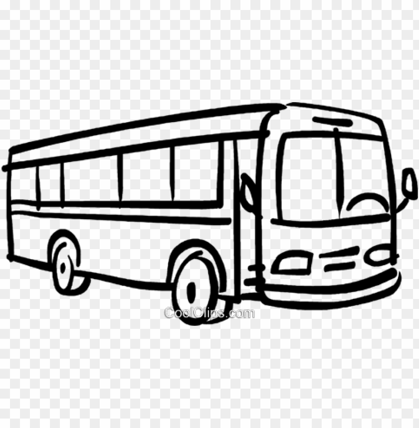 free PNG bus royalty free vector clip art illustration - clip art of bus PNG image with transparent background PNG images transparent