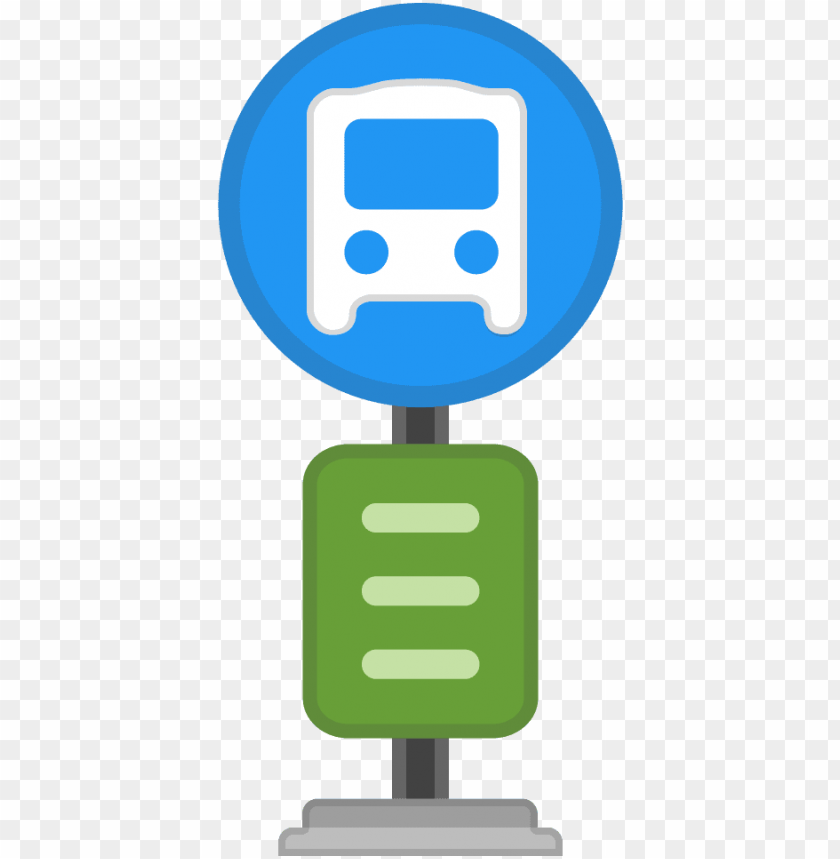 free PNG bus stop icon - bus stop emoji PNG image with transparent background PNG images transparent