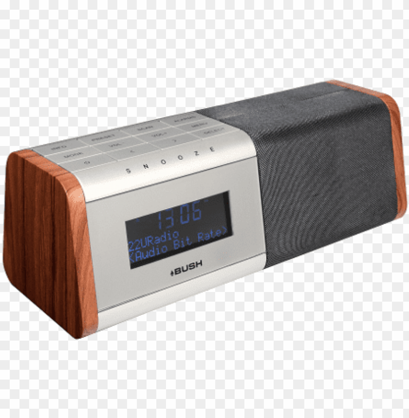 free PNG bush digital radio alarm clock bcr35dabw PNG image with transparent background PNG images transparent