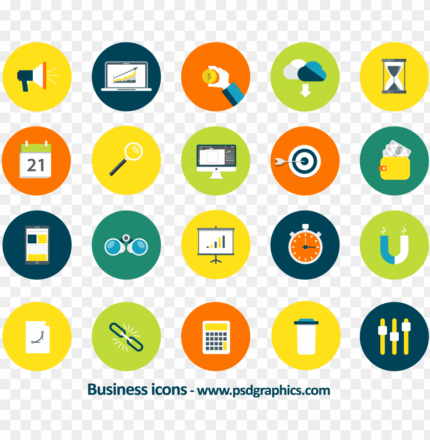 free PNG business icons - business icon vector PNG image with transparent background PNG images transparent