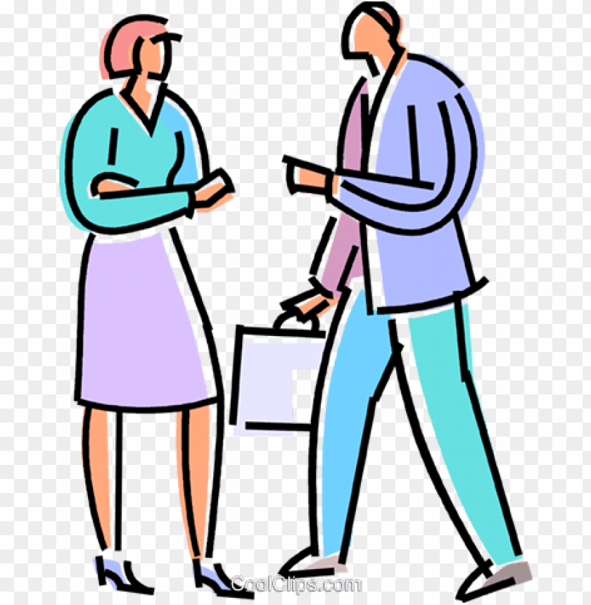 free PNG business people greeting each other royalty free vector - people greeting each other clipart PNG image with transparent background PNG images transparent
