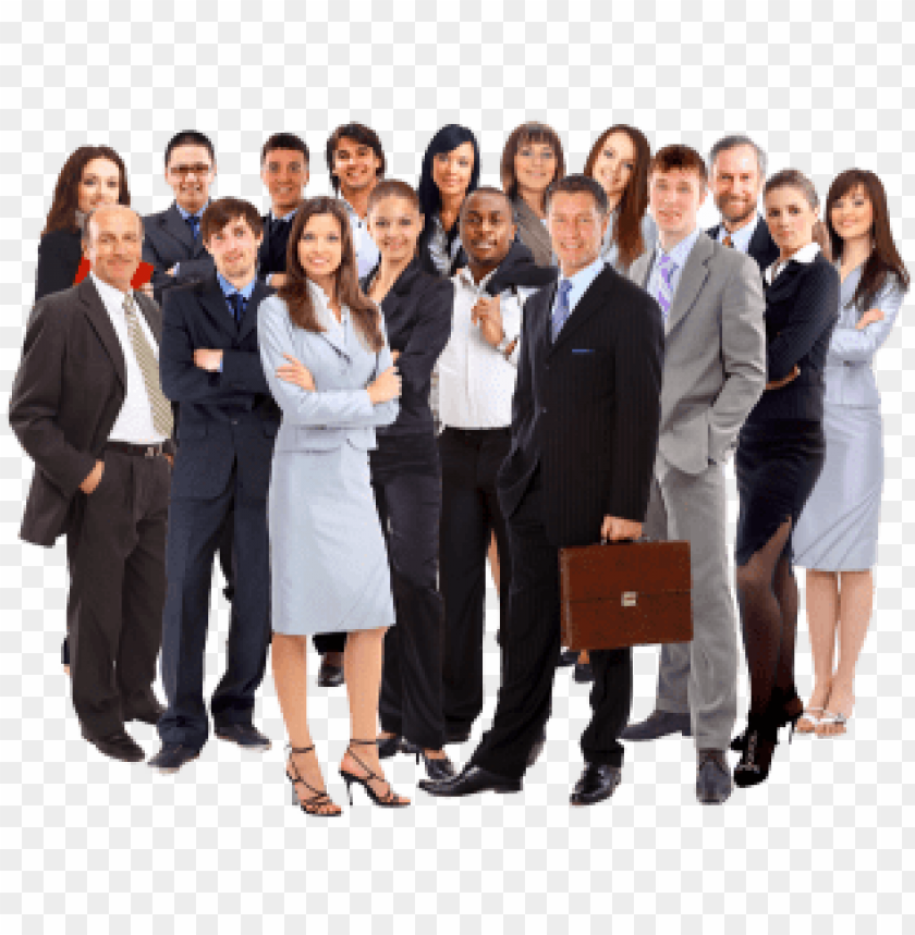 free PNG business people group png free png images - happy business people PNG image with transparent background PNG images transparent