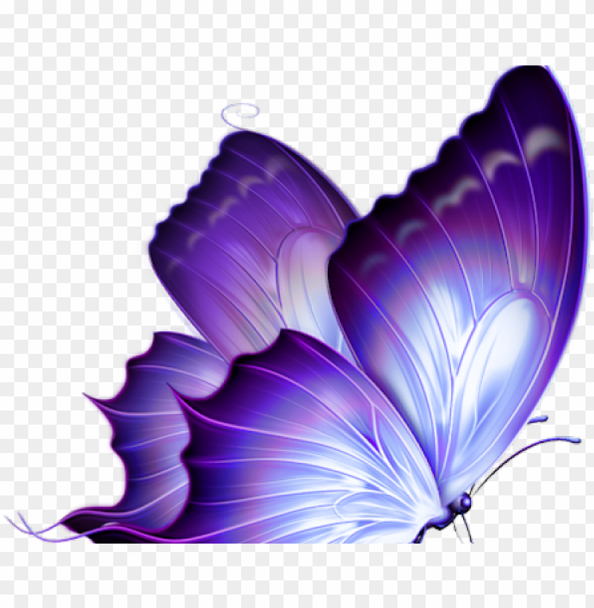 free PNG butterfly tattoo designs png transparent images - purple butterfly PNG image with transparent background PNG images transparent
