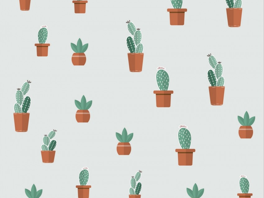 free PNG cacti, succulents, art, patterns background PNG images transparent