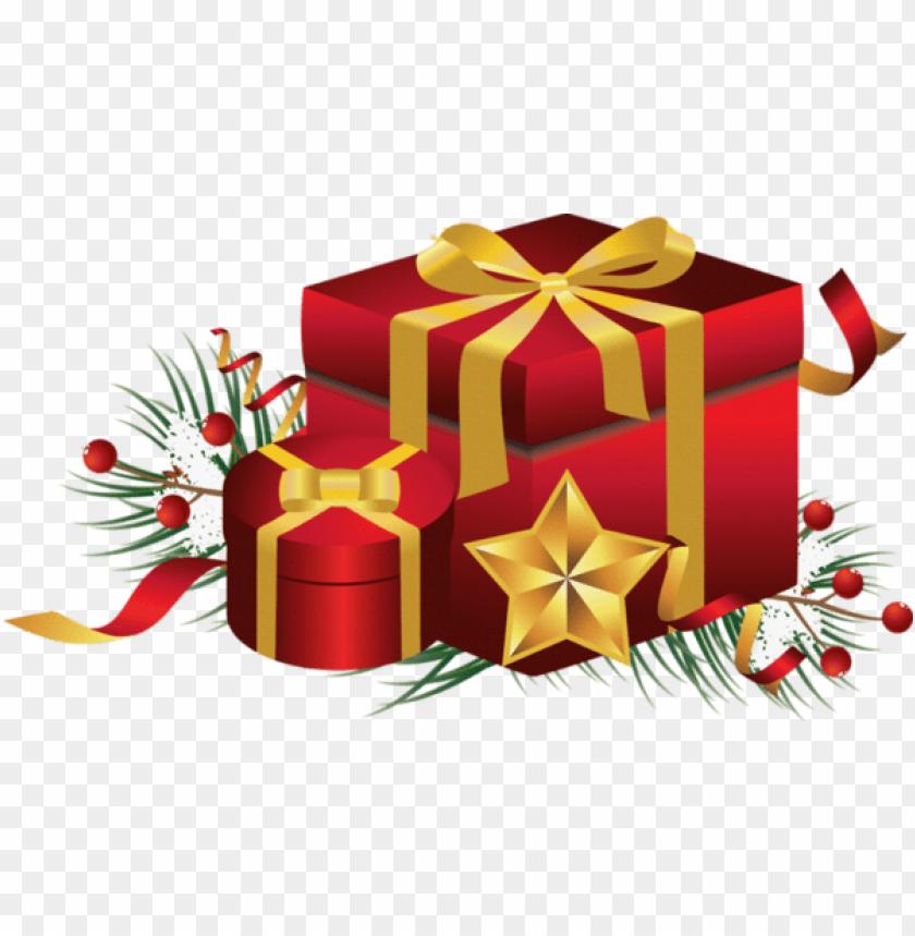 Noel Png cadeaux de noel PNG image with transparent background | TOPpng