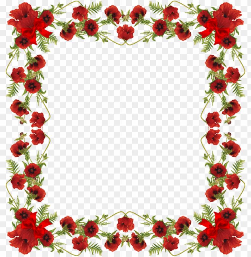 free PNG cadre fleuri PNG image with transparent background PNG images transparent