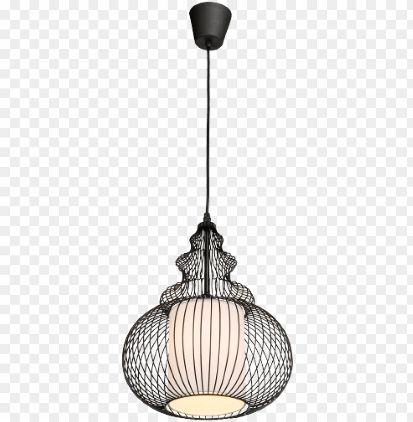 free PNG cage hanging light orient/ black/ aluminium/ pendulum - hanging lighting fixture with lattice shade - black PNG image with transparent background PNG images transparent