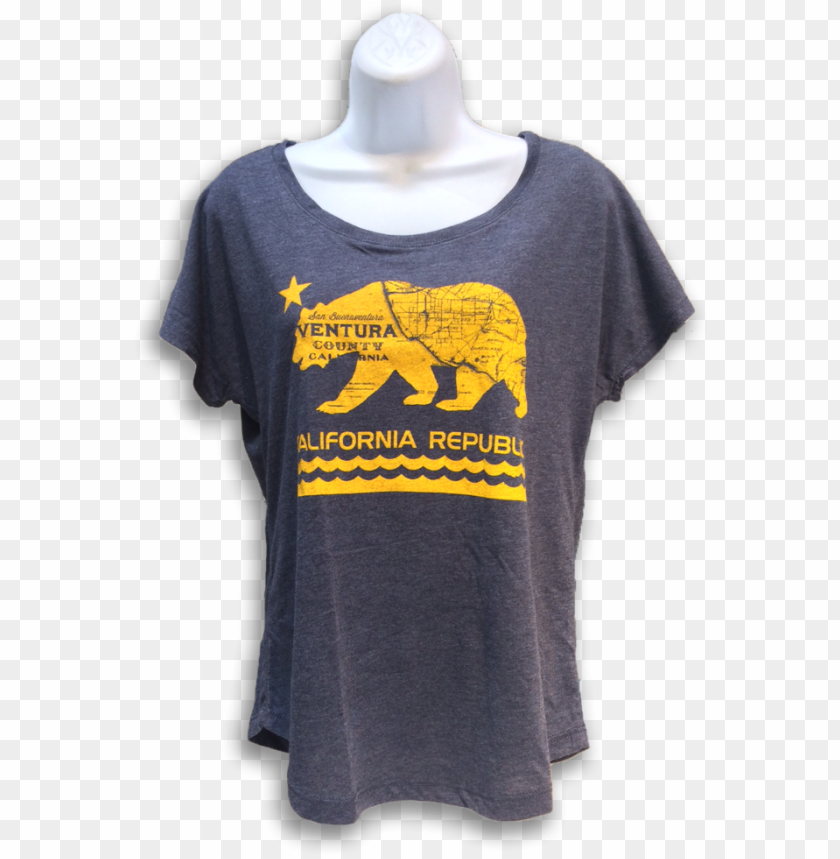 free PNG cal bear dolman t shirt - cali press PNG image with transparent background PNG images transparent