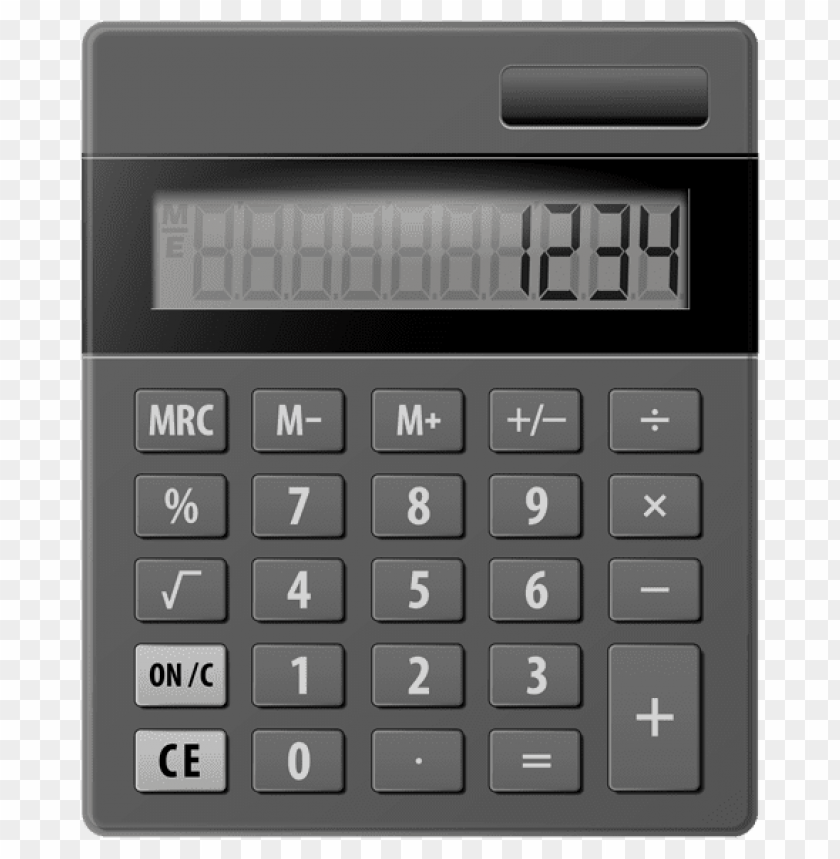 Calculator Clipart Black And White Transparent Png - Calculator Clipart  Black And White , Free Transparent Clipart - ClipartKey