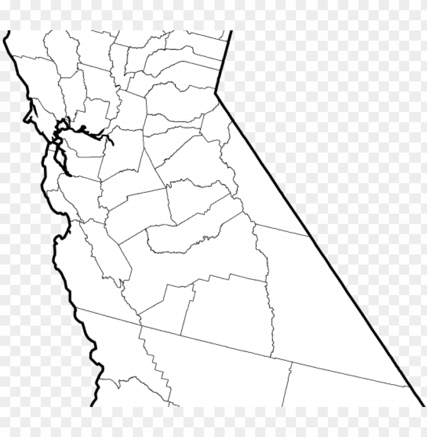 free PNG california flag clipart svg - california counties map grey PNG image with transparent background PNG images transparent