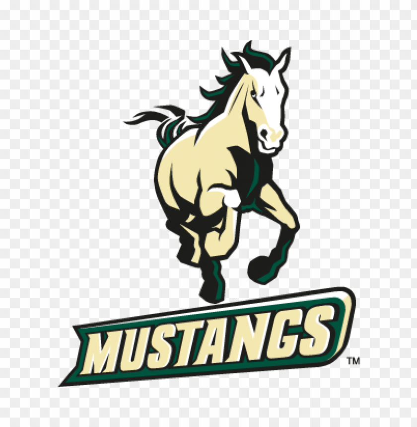 free PNG california poly mustangs vector logo PNG images transparent