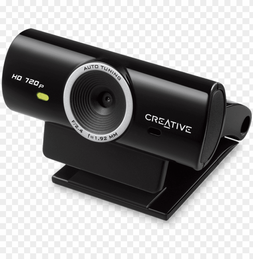 free PNG cam sync hd 720p plug and play webcam - creative live! cam sync hd web camera PNG image with transparent background PNG images transparent
