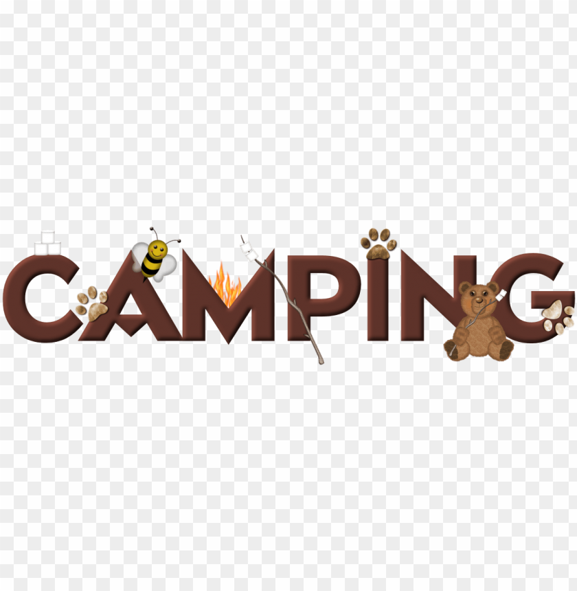 Camp Clipart Word Art Winnipe Png Image With Transparent Background Toppng