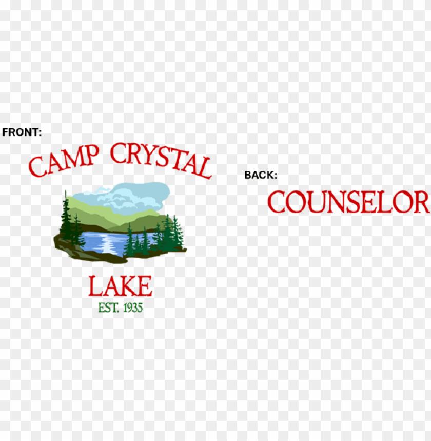 free PNG camp crystal lake png - camp crystal lake logo PNG image with transparent background PNG images transparent