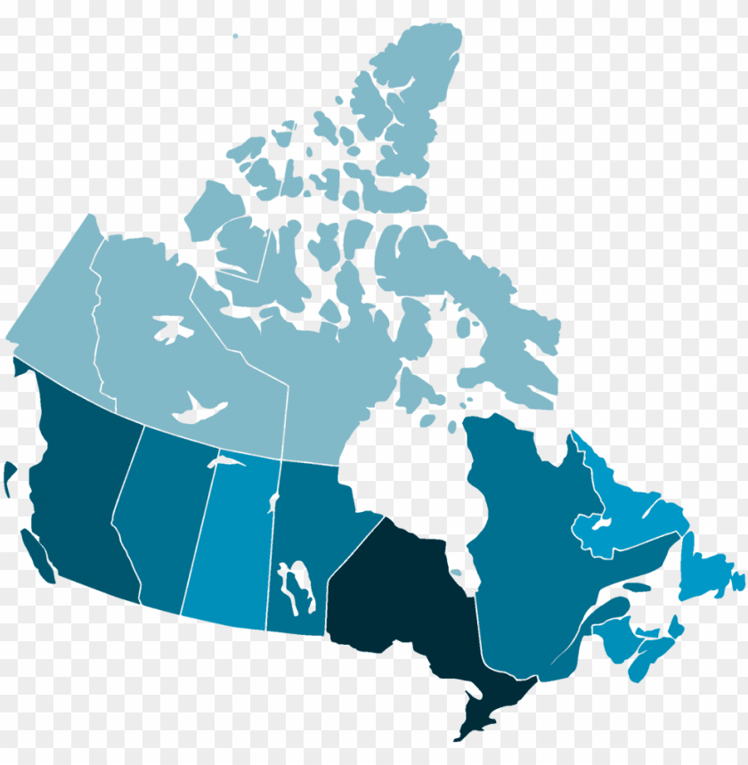 free PNG canada map 4 - blank map of canada PNG image with transparent background PNG images transparent