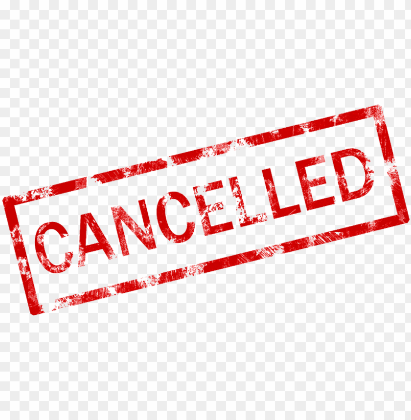 free PNG cancelled stamp png png stock - event cancelled PNG image with transparent background PNG images transparent