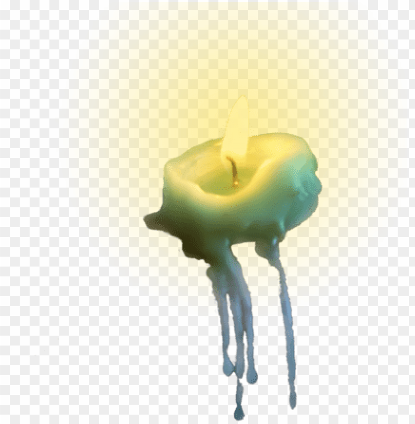 free PNG candle png tumblr - melted candle transparent PNG image with transparent background PNG images transparent