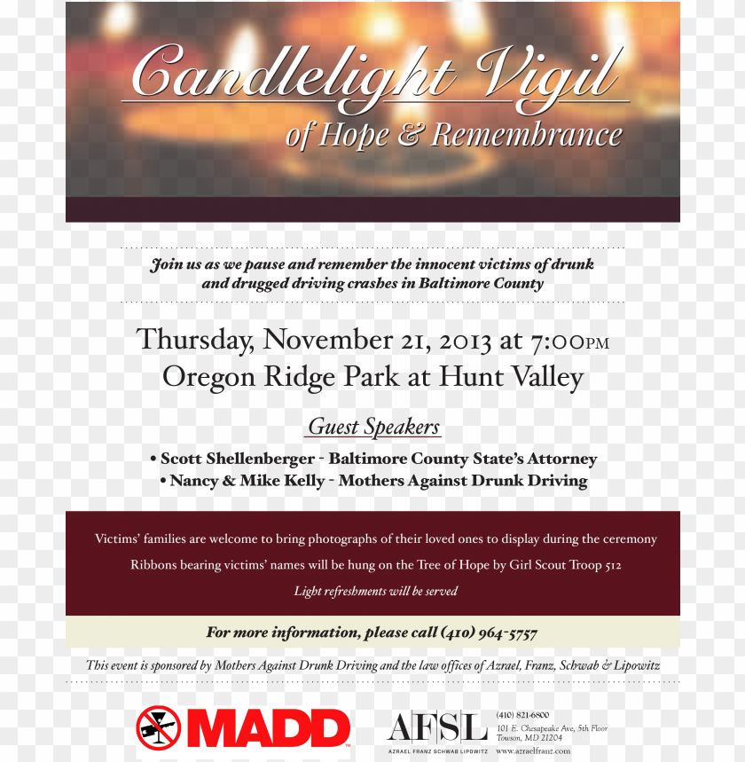 free PNG candlelight vigil of hope & remembrance ceremony - remembrance flyer PNG image with transparent background PNG images transparent