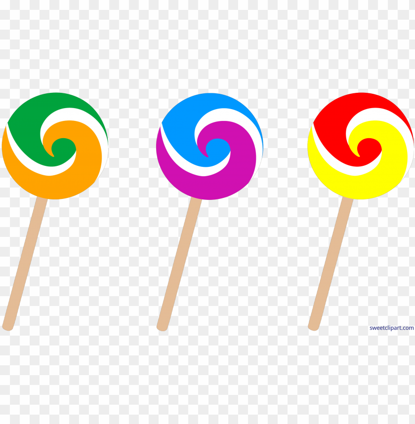 free PNG candy swirl lollipops clip art - transparent background candy clipart PNG image with transparent background PNG images transparent