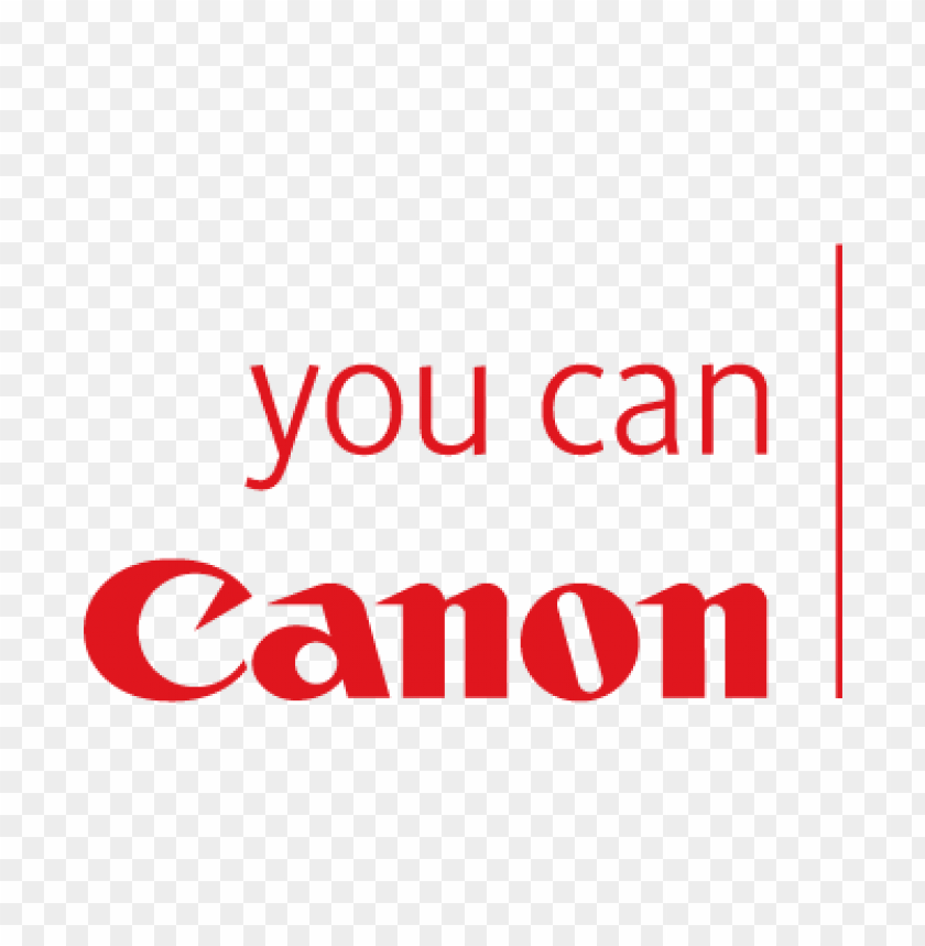 canon you can vector logo@toppng.com