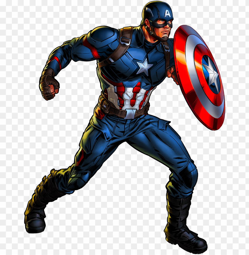 free PNG captain america clipart dc character - capitan america marvel avengers alliance PNG image with transparent background PNG images transparent