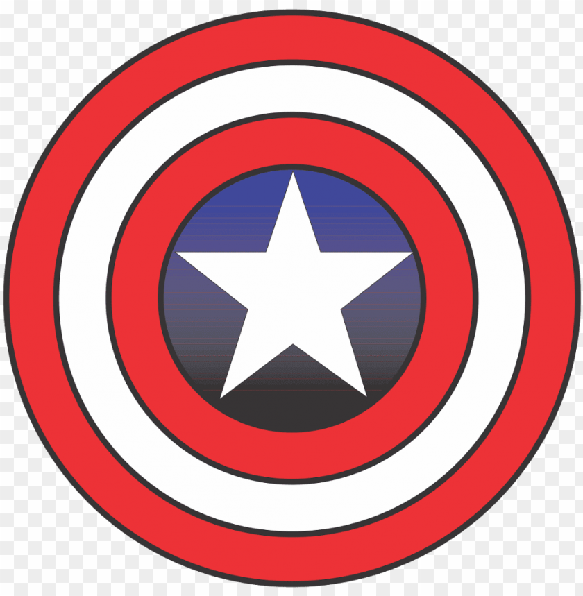 Captain America Logo Vector Fictional Superhero Format Marvel Captain America Logo Png Image With Transparent Background Toppng