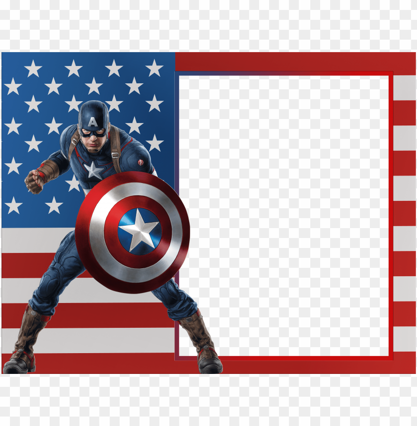 captain america transparent photo frame background best stock photos toppng captain america transparent photo frame