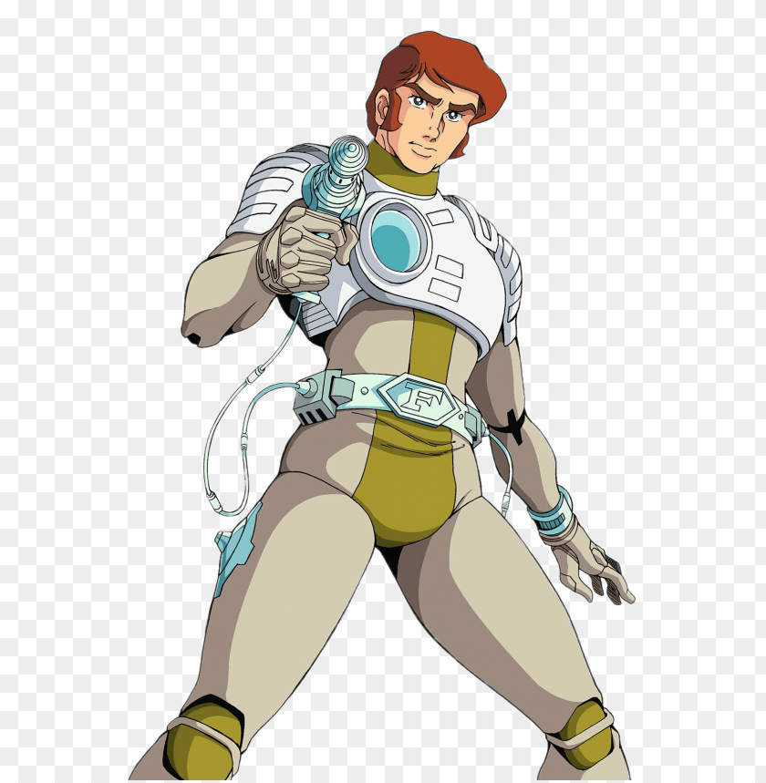 free PNG Download captain future holding weapon clipart png photo   PNG images transparent
