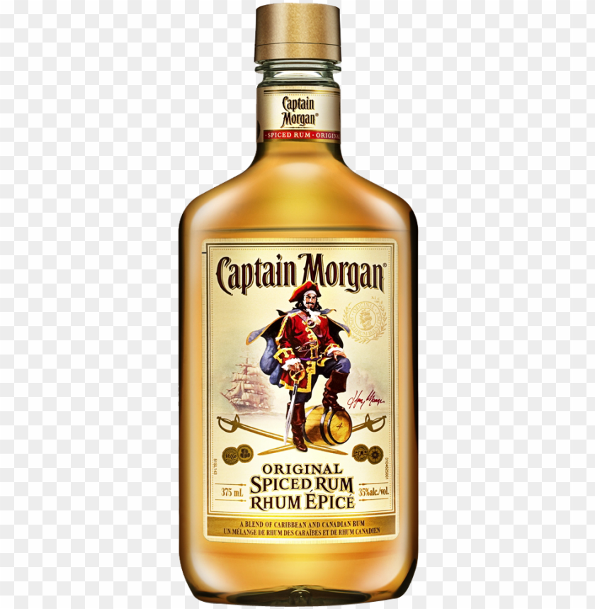 free PNG captain morgan original spiced rum - captain morgan original spiced gold spiced rum PNG image with transparent background PNG images transparent