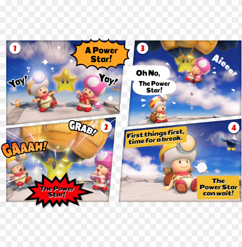 free PNG captain toad treasure tracker wingo - captain toad treasure tracker comic PNG image with transparent background PNG images transparent