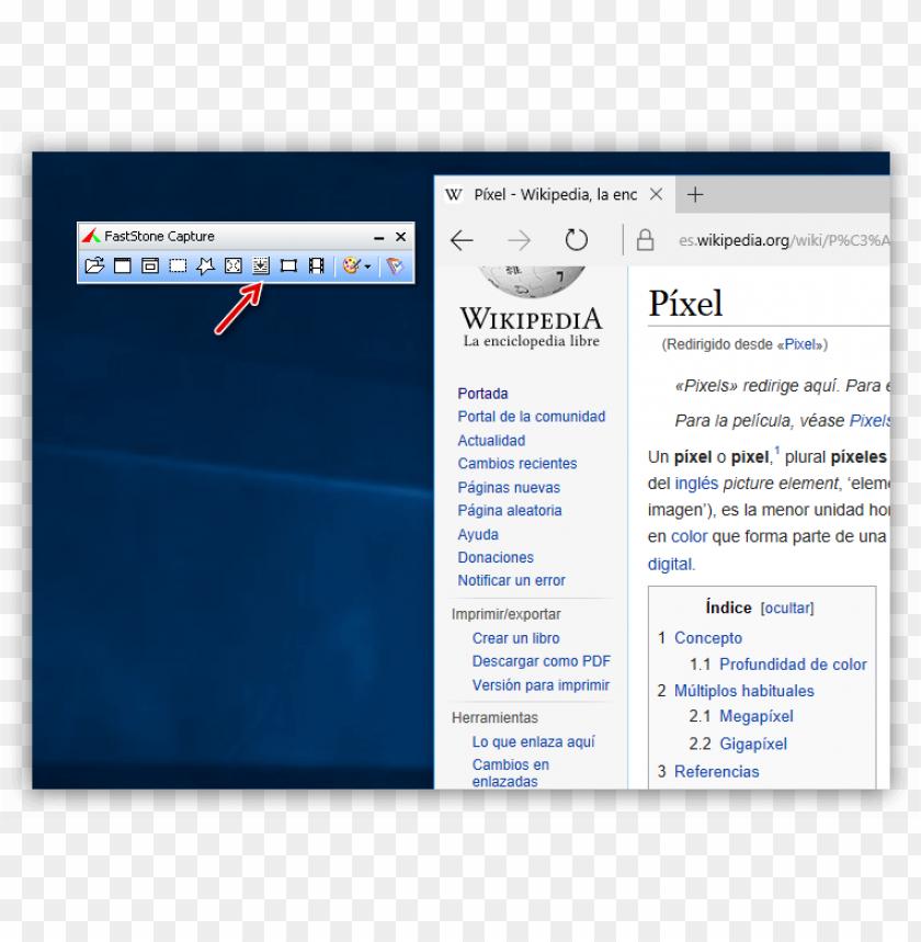 free PNG captura página web con un programa gratis PNG image with transparent background PNG images transparent