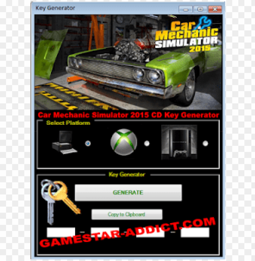 free PNG car mechanic simulator 2015 cd key generator - car mechanic simulator 2015 download key PNG image with transparent background PNG images transparent