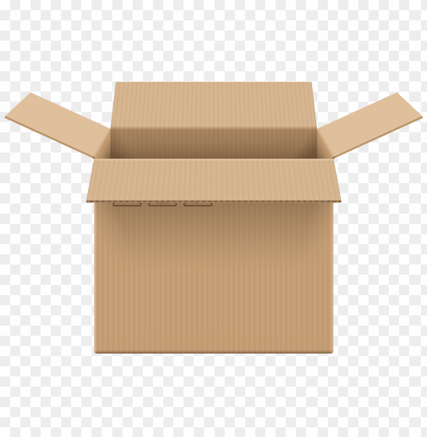 free PNG Download cardboard box open clipart png photo   PNG images transparent