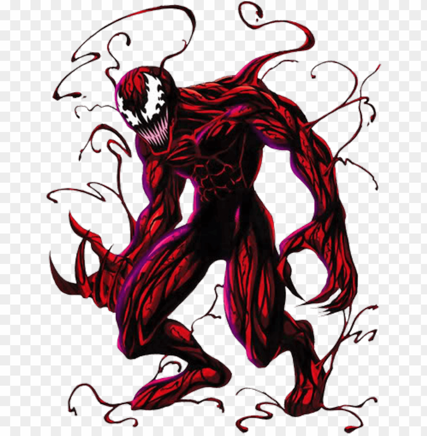 Spiderman Carnage Coloring Pages in 2020 | Coloring pages, Carnage ... | 859x840