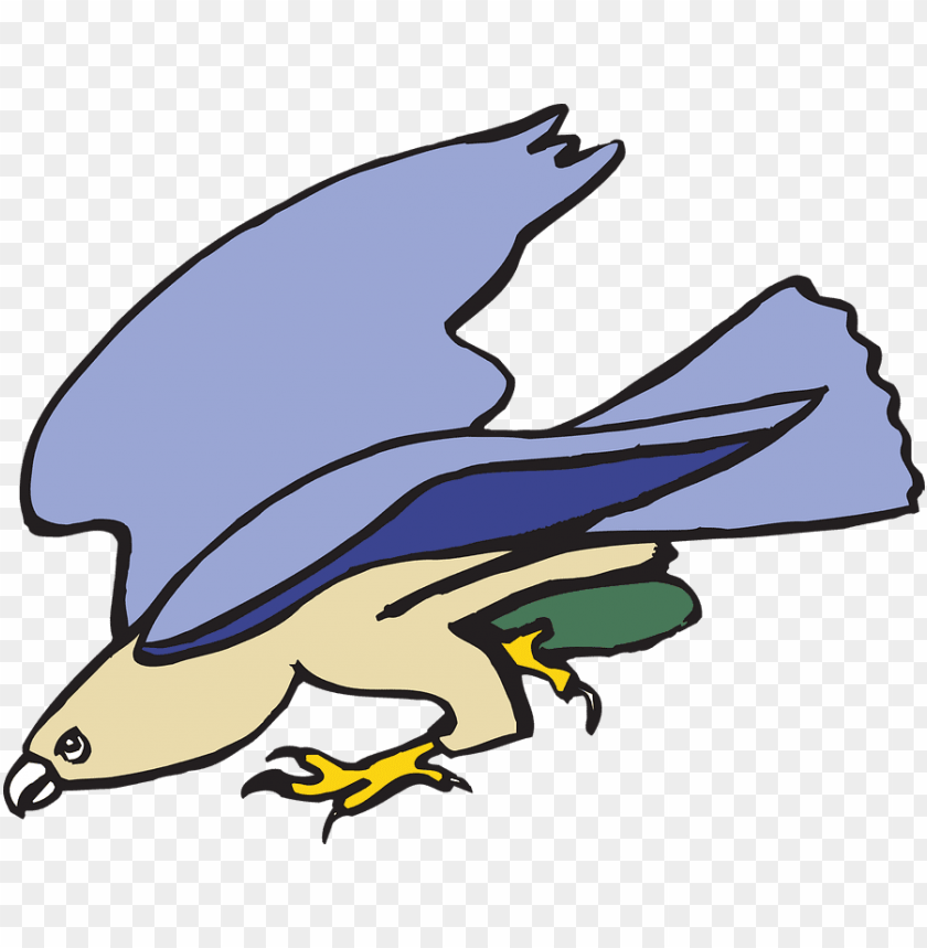 free PNG cartoon, bird, flying, wings, art, heron, fly - animated kite bird PNG image with transparent background PNG images transparent
