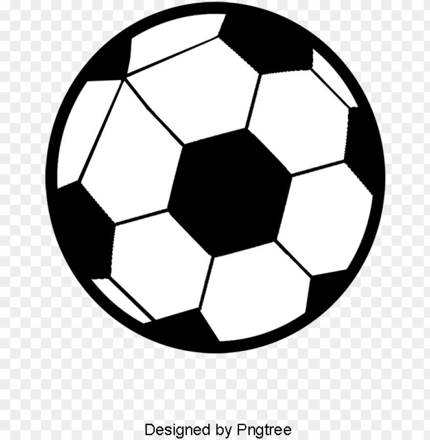 Cartoon Black And White Football Logo Football Clipart