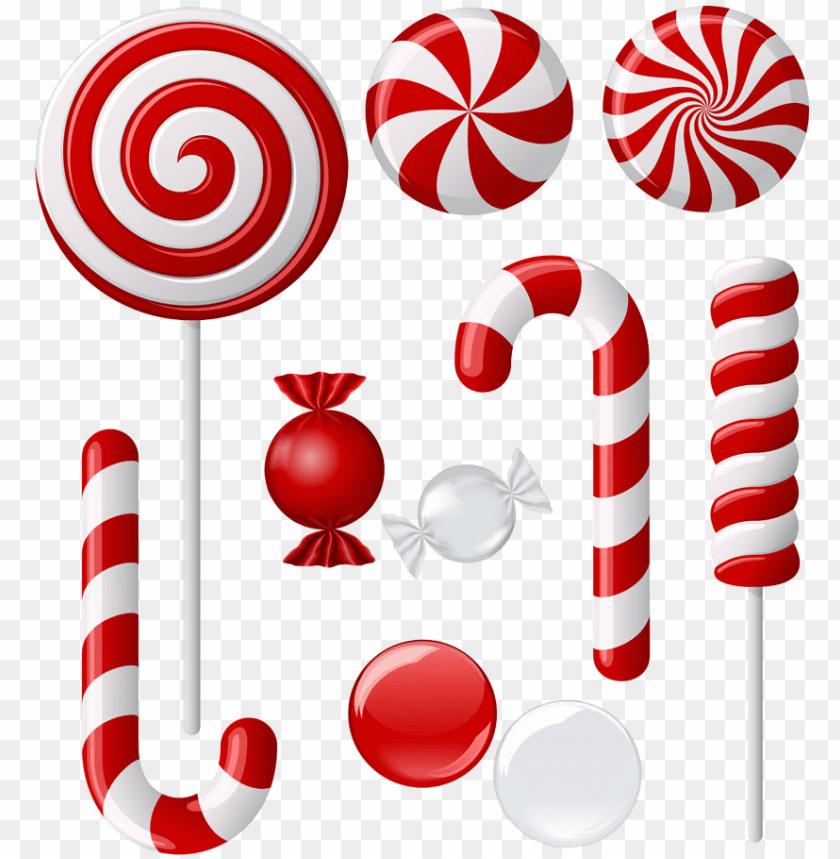 cartoon candy canes christmas lollipop vector 11563386229qsah5mmbcz