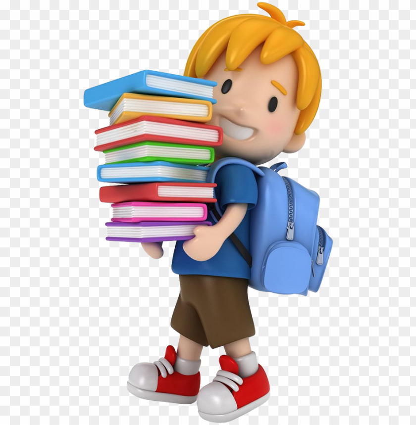 free PNG cartoon clipart school stock photography child 3d school - 3d school kids PNG image with transparent background PNG images transparent