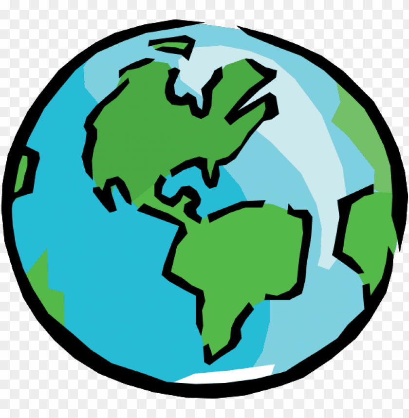 cartoon earth png - transparent background earth clipart PNG image with transparent background@toppng.com